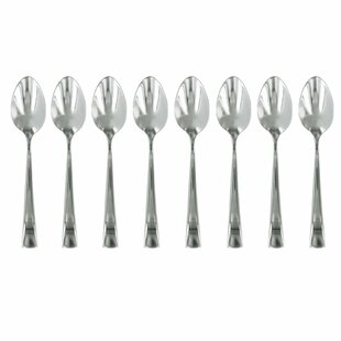 Bellasera 8-pc 18/10 Stainless Steel Espresso Spoon Set (Set of 8)