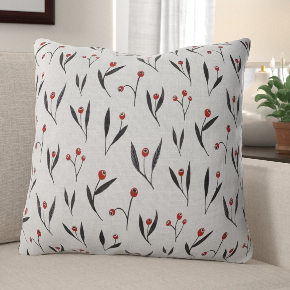 Cottage Country Gray Silver Christmas Pillows You Ll Love In 2021 Wayfair