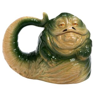 Star Wars Jabba the Hutt Sculpted Coffee Mug