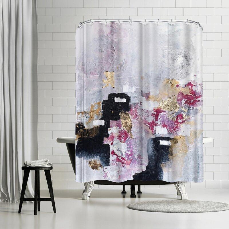 Christine Olmstead Blush Shower Curtain