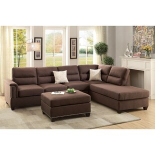 Wardlow Right Hand Facing Sectional with Ottoman
