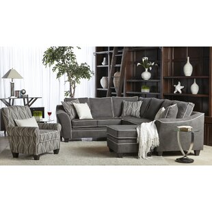 Ivy Bronx Aquila Reversible Sectional wit..