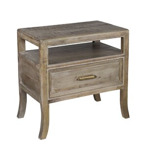 Carin 1 Drawer Nightstand by Mistana