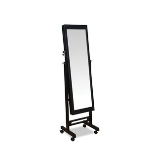 Iggy Free standing Jewelry Armoire with Mirror