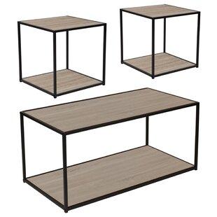 Nault 3 Piece Coffee Table Set