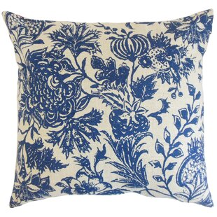 Bionda Floral Throw Pillow