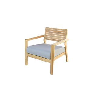 Azu Garden Chair With Cushion (Set Of 2) By Sol 72 Outdoor