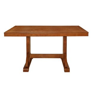 Aubree Wood Dining Table by Loon Peak Cool