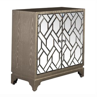 Alysa 2 Door Accent Cabinet by Bungalow Rose