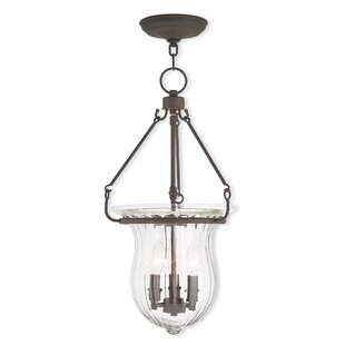 Bachmann 3-Light Urn Pendant by Darby Home Co