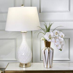 Pritchett Glass Textured 32 Table Lamp