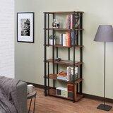 Kraig 70 H x 32 W Metal Etagere Bookcase by 17 Stories