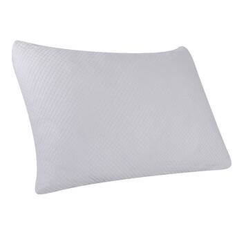 Sealy Duochill Gel Memory Foam Cooling Infused Medium Support Bed Pillow With Cool Clean Technology Reviews Wayfair