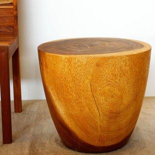 Union Rustic Seliga Drum End Table