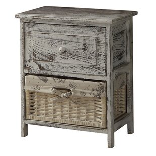 Cottage Home 1 Drawer Nightstand