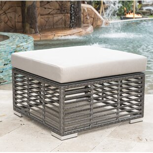 Outdoor Ottoman with Cushion by Panama Jack Outdoor