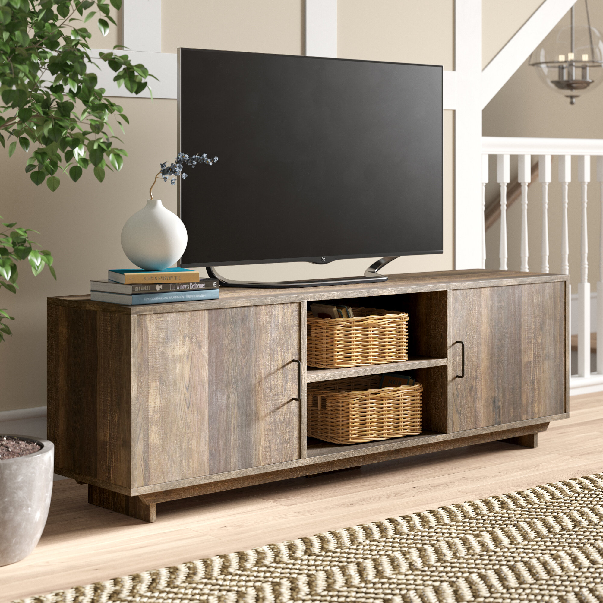 Seldovia Tv Stand For Tvs Up To 70 Inches Reviews Birch Lane