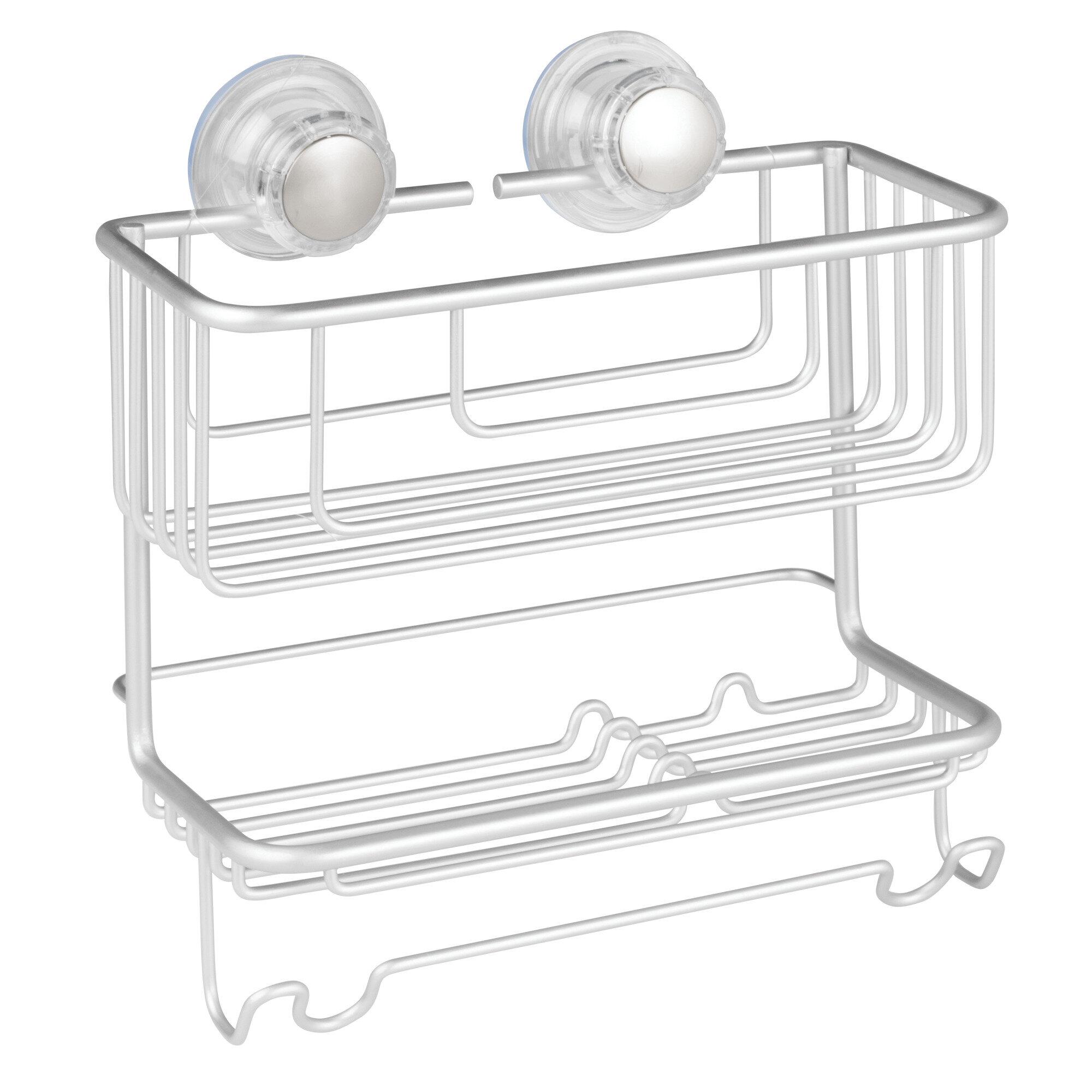 Interdesign Metro Aluminum 2 Tier Shower Caddy Reviews Wayfair