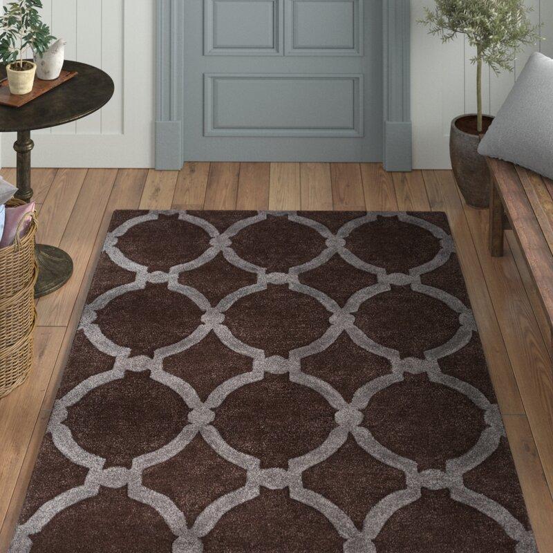 Laurel Foundry Modern Farmhouse Labastide Handmade Tufted Wool Brown Gray Rug Reviews Wayfair