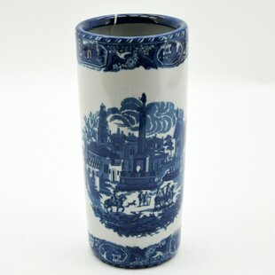 Leela Street Scene Umbrella Stand By Marlow Home Co.