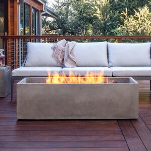 Arroyo Stainless Steel Gas Fire Pit Table