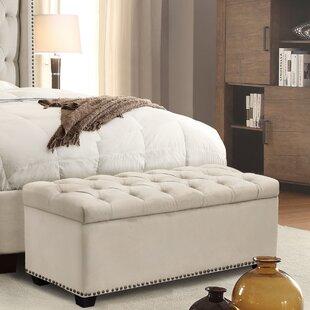 Majestic Upholstered Storage Bench by Diamond Sofa