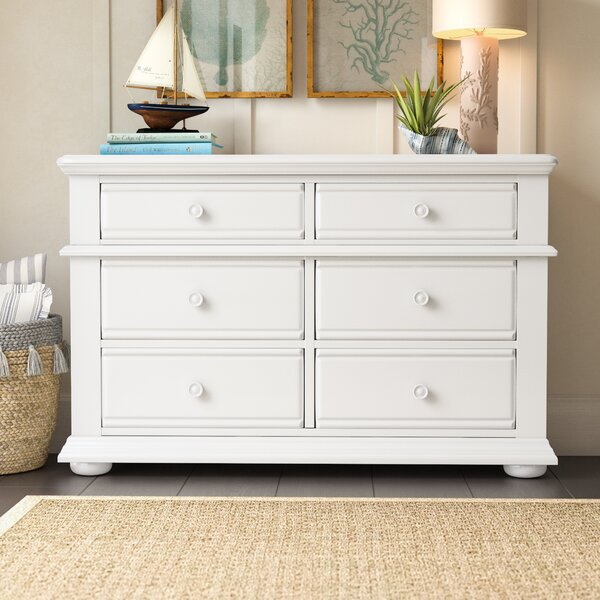 Dickens 6 Drawer Double Dresser by Beachcrest Home™