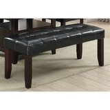 Caringorm Faux Leather Bench by Red Barrel Studio®