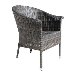 Saliba Patio Dining Chair by Latitude Run