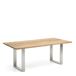Noah Stainless Steel Dining Table By Niehoff Garden