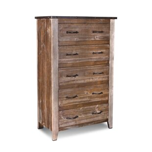Horizon Home LLC Urban Loft 5 Drawer Chest