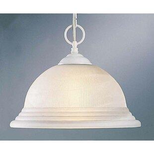 Volume Lighting 1-Light Bell Pendant