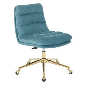 Ellerby Upholstered Tufted Mid Back Office Chair