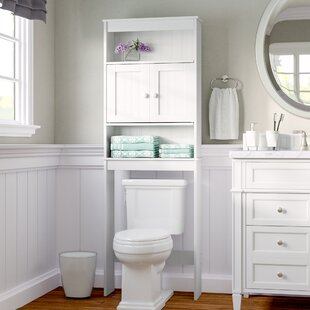 23.25 W x 66.5 H Over the Toilet Storage by Rebrilliant