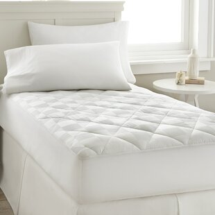 Gerling Square Dobby Polyester Mattress Pad by Alwyn Home Modern