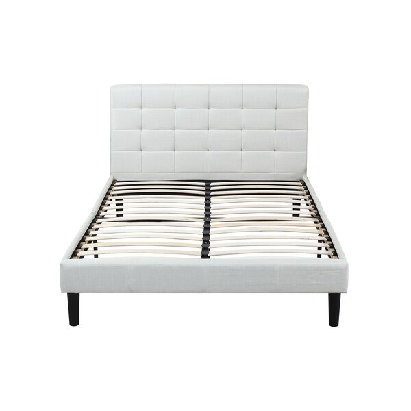 Madison Home Usa Clic Deluxe Linen Low Profile Platform Bed Reviews Wayfair