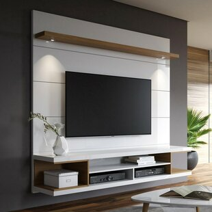 Floating Tall Entertainment Centers You\'ll Love in 2019 ...