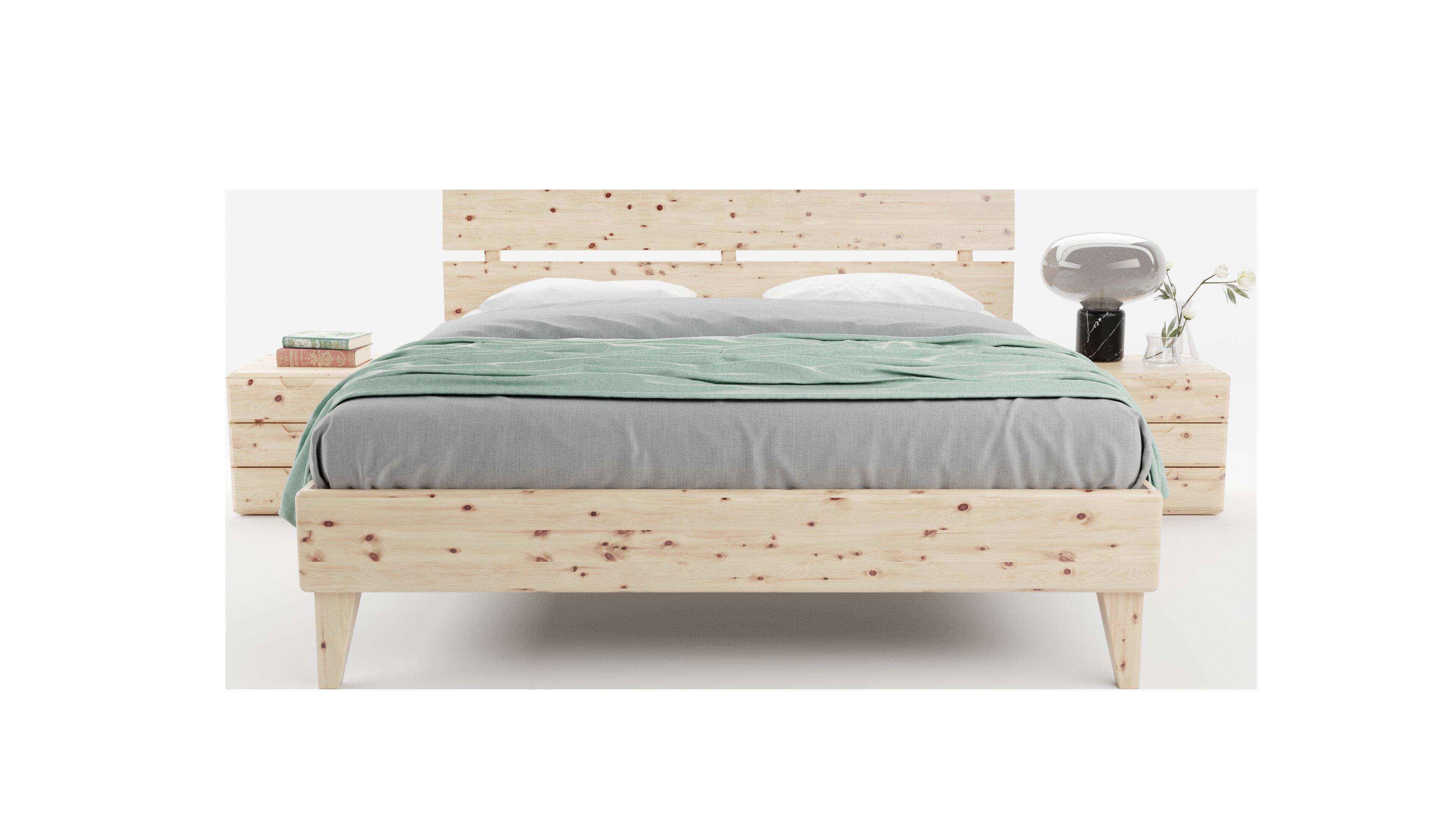 Corrigan Studio Lenore Solid Wood Platform Bed Wayfair