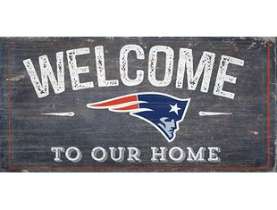 NFL Welcome Wall Décor By Fan Creations