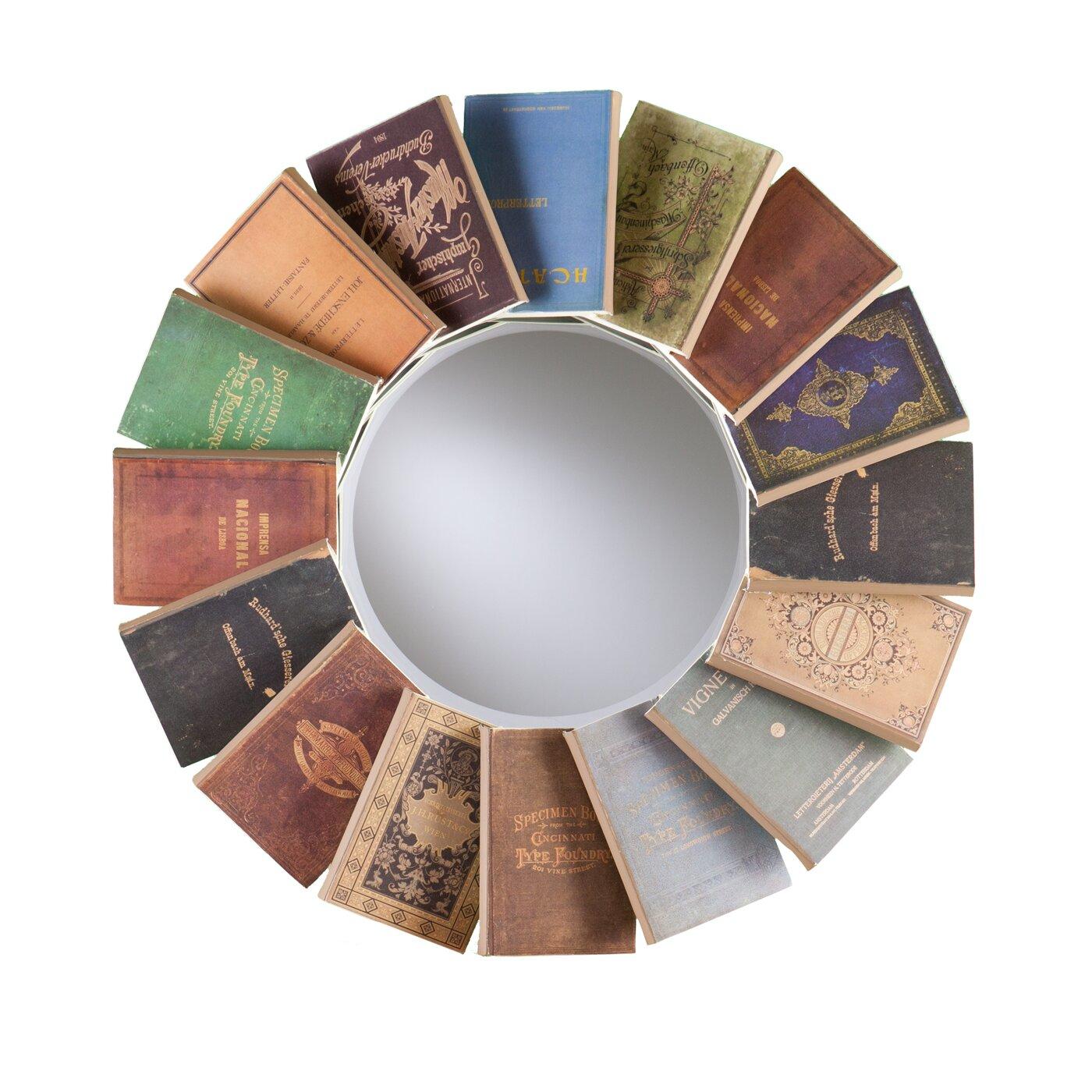 round decorative book wall mirror - Round Decorative Mirror