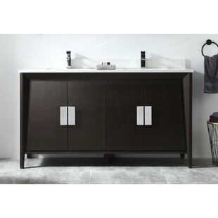 Deluca 60 Double Bathroom Vanity Set By Orren Ellis