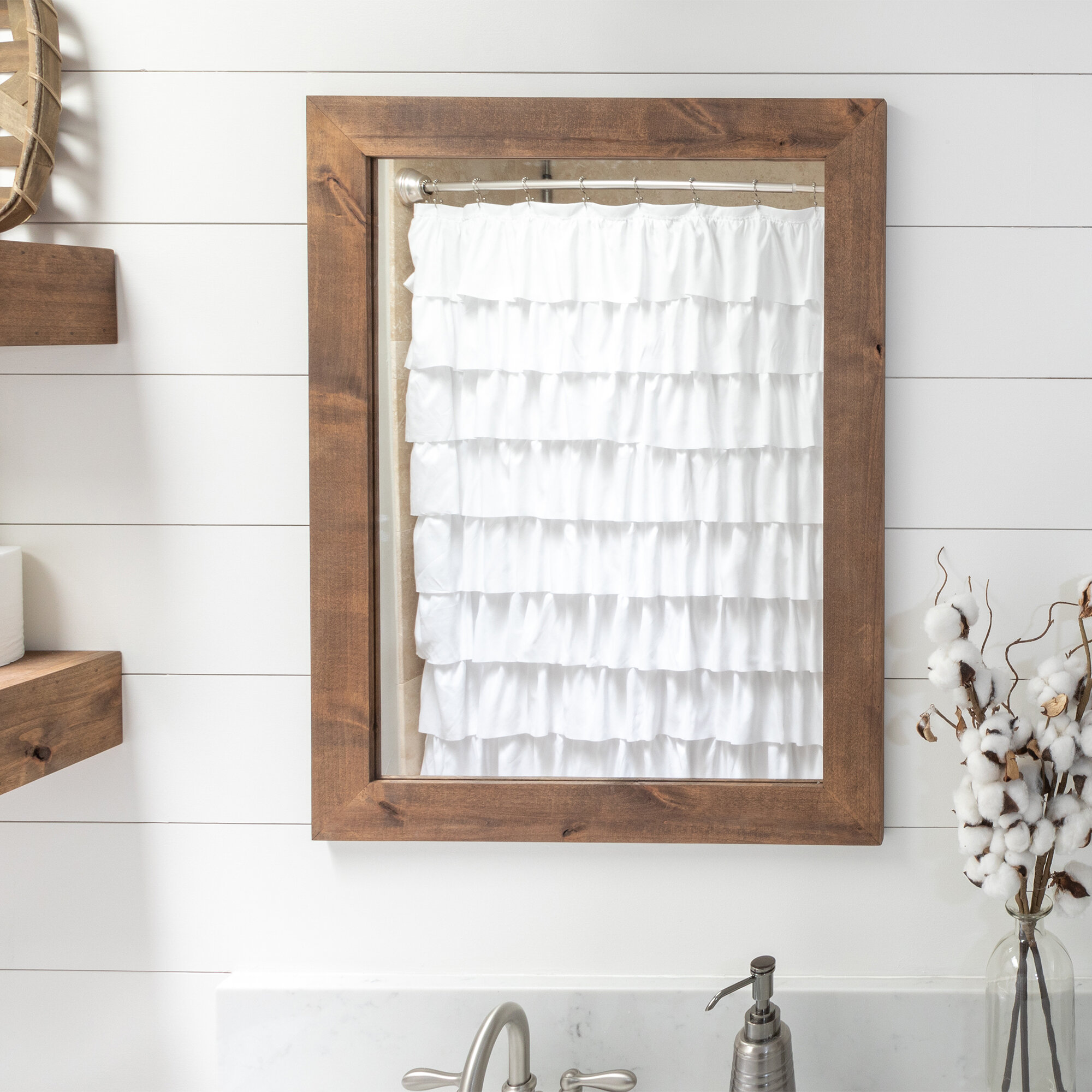 Bathroom Vanity Cottage Country Mirrors You Ll Love In 2021 Wayfair