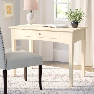 Shrout Solid Wood Writing Desk by Winston Porter