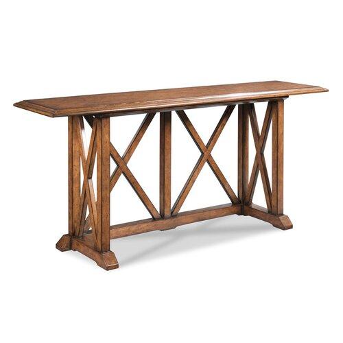 Woodbridgefurniture Ardsley Trestle Coffee Table Wayfair