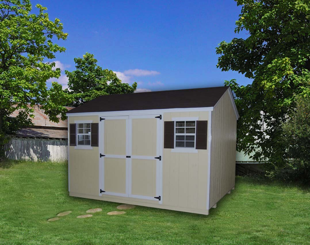 Value Solid and Manufactured Wood Storage Shed
