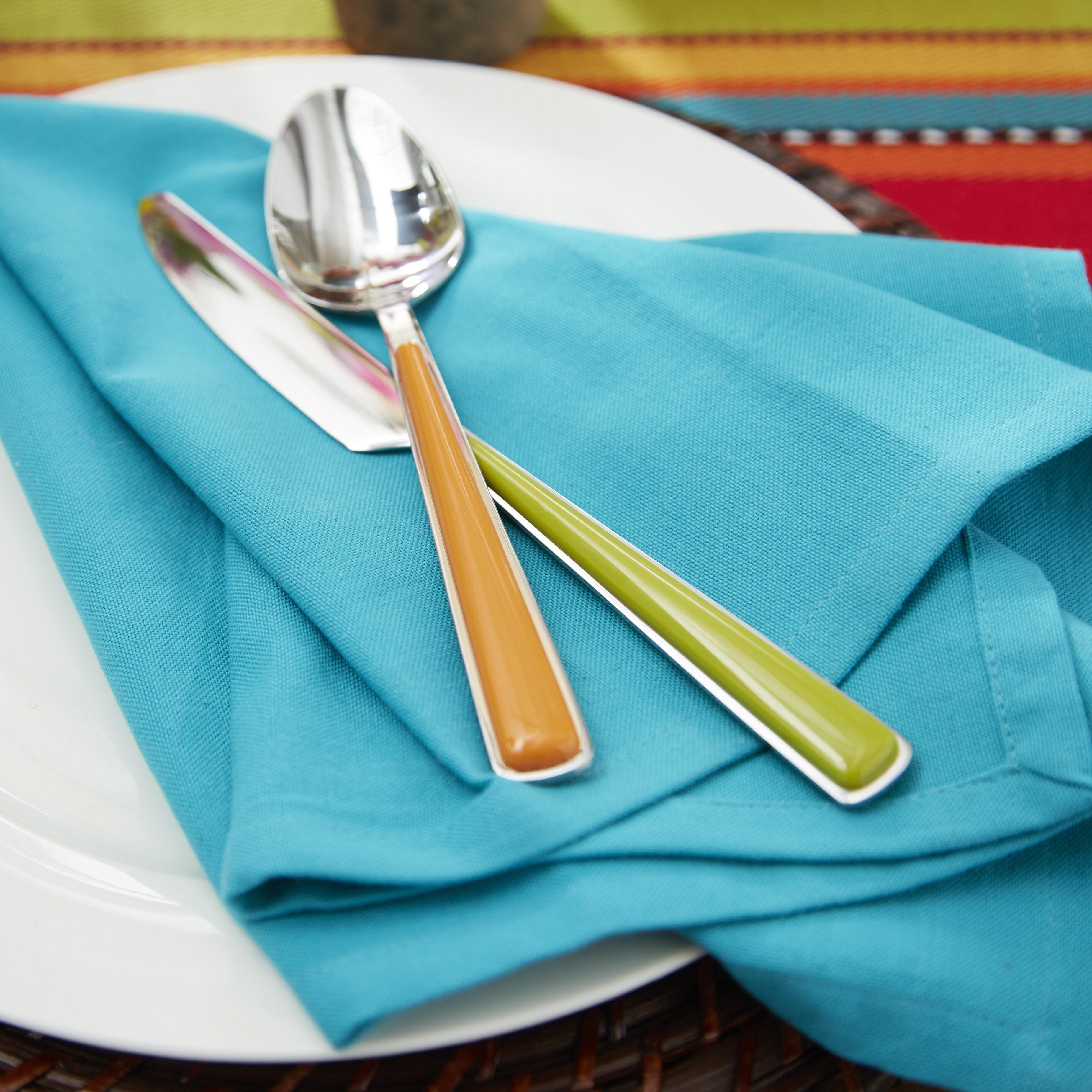 Merengue Fiesta 13 Piece Cutlery Set with Block