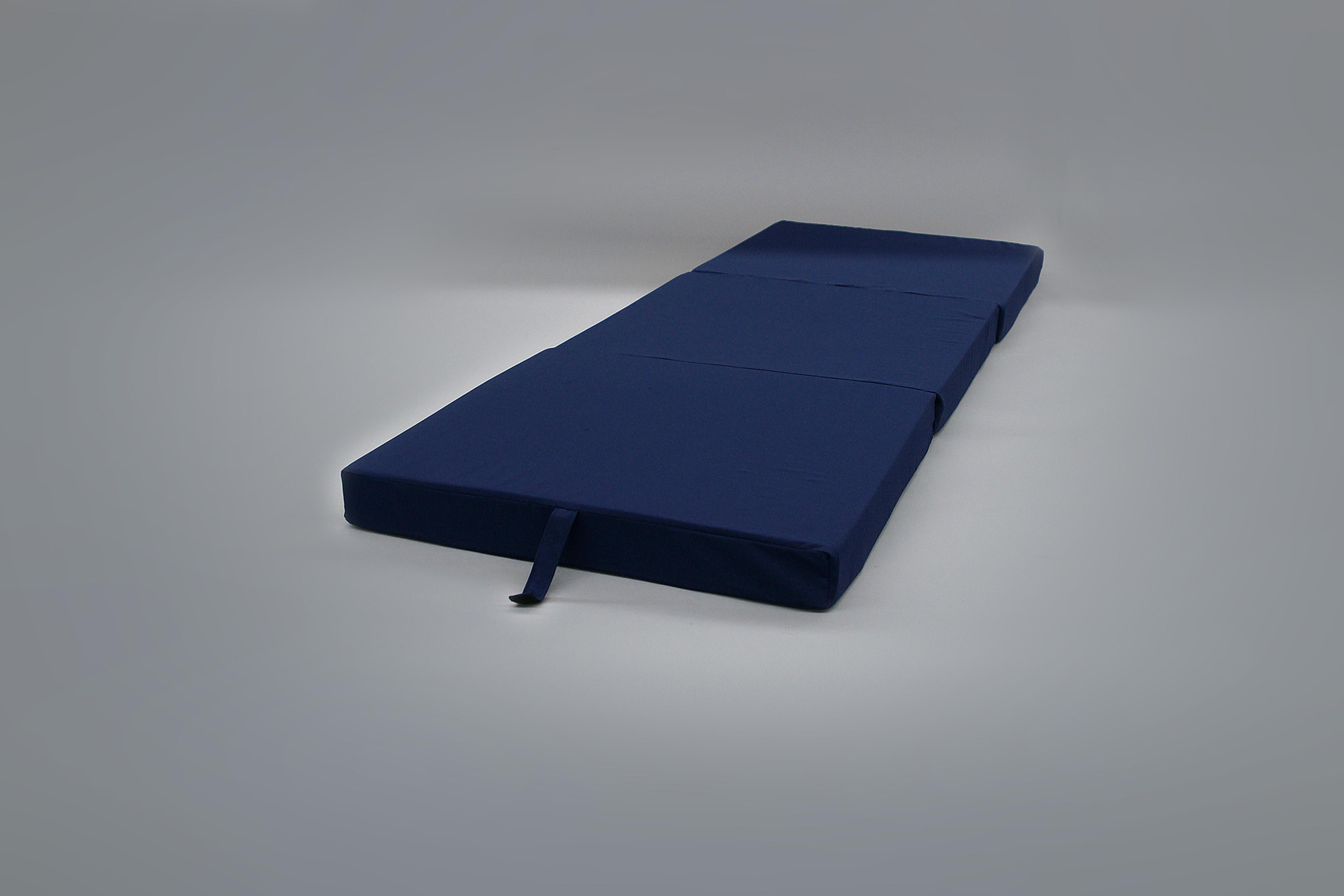 Alwyn Home Ritchie Fold Away Bed Blue Standard Medium Mattress Reviews Wayfair Ca
