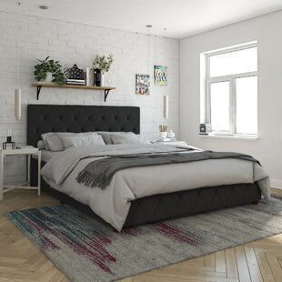 Elizabeth Upholstered Platform Storage Bed By CosmoLiving By Cosmopolitan