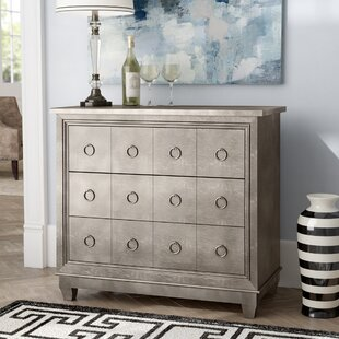 Kewdale 3 Drawer Chest ByWilla Arlo Interiors