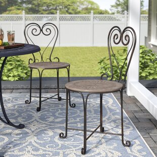 Ophelia & Co. Allegra Patio Dining Chair (Set of 2)